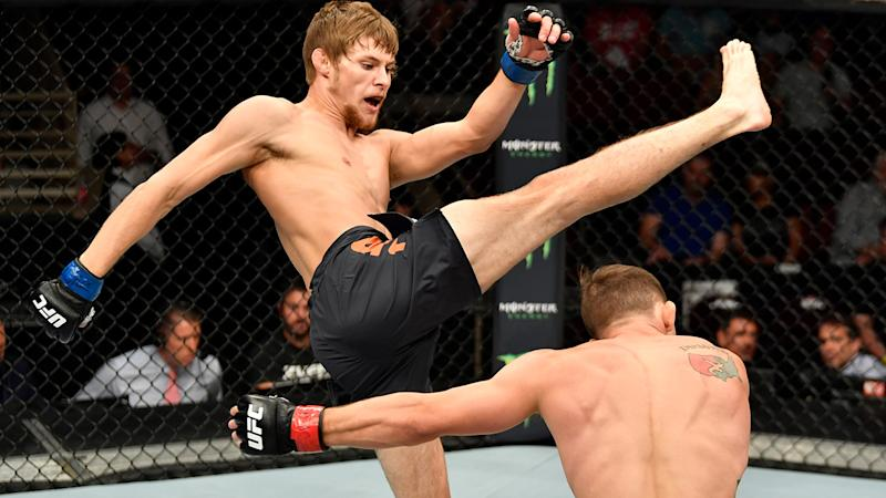 UFC fighter Bryce Mitchell 'rips scrotum' in freak accident