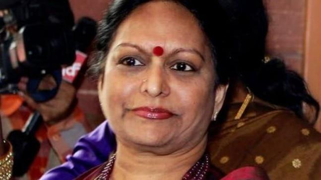 Nalini Chidambaram is accused of taking a bribe of Rs 1.4 crore in the Saradha Ponzi scheme scam.