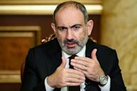 "Armenia's leader said his decision to participate in the accord was ""unspeakably painful"""