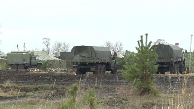 CBC News visited the outskirts of a Russian camp about 600 kilometres from Moscow, near the hamlet of Beriozka.