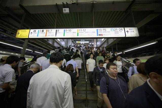 Some employees are being encouraged to skip the daily commute and take a 'workation' instead. (AFP Photo/Behrouz MEHRI)