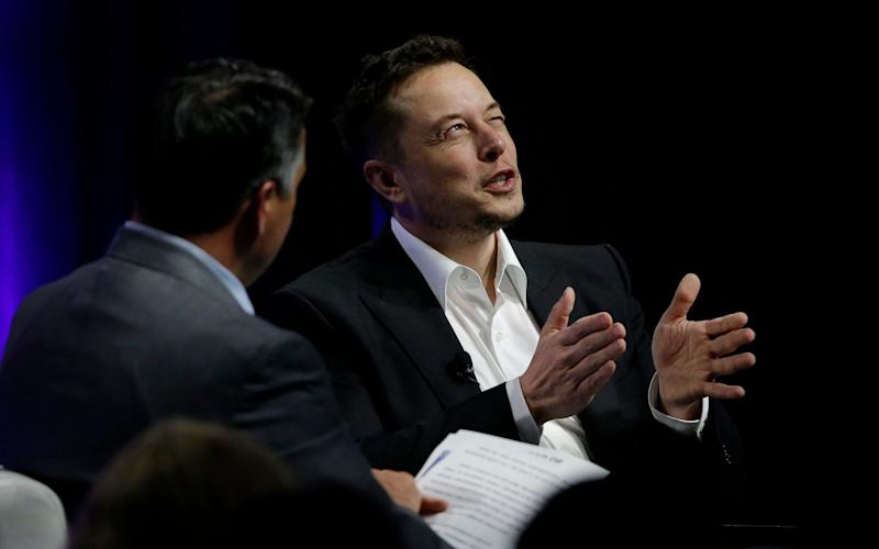 Musk was speaking to US governors - AP
