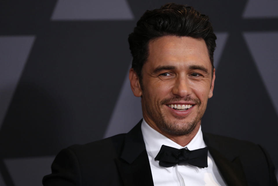 James Franco was edited out of the the <em>Vanity Fair</em> Hollywood Issue. (Photo: Getty Images)