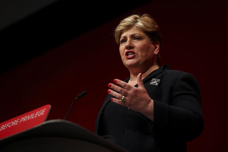Thornberry, Lewis Fight to Get on U.K. Labour Leadership Ballot