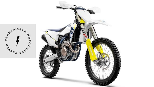 A technical briefing that details the all-new frame, updated suspension settings, refined engine, and other key components of the 2019 Husqvarna FC 250.