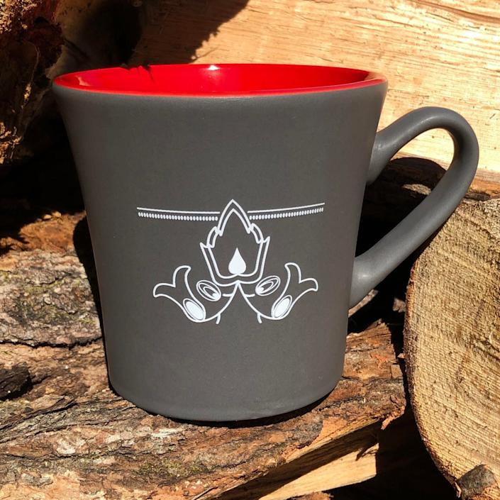 """Put your Indigenous coffee in a mug created by Anishinaabe artist and designer Sarah Agaton Howes, who pulled from an old drawing of her grandpa's beadwork for the design. Howes, from Fond du Lac Nation in Minnesota, is a collaborator through Eighth Generation&rsquo;s Inspired Natives Project, a business and educational initiative that brings in entrepreneurs in hopes of raising awareness about the cultural and economic impact of cultural appropriation and misrepresentation. The program also aims to place more goods on the market that responsibly align with Indigenous themes and aesthetics.&lt;br&gt;&lt;br&gt;<strong><a href=""""https://houseofhowes.com/collections/all/products/old-style-ceramic-mug"""" rel=""""nofollow noopener"""" target=""""_blank"""" data-ylk=""""slk:Heart Berry Old Style Ceramic Mug"""" class=""""link rapid-noclick-resp"""">Heart Berry Old Style Ceramic Mug</a>, $12</strong>"""
