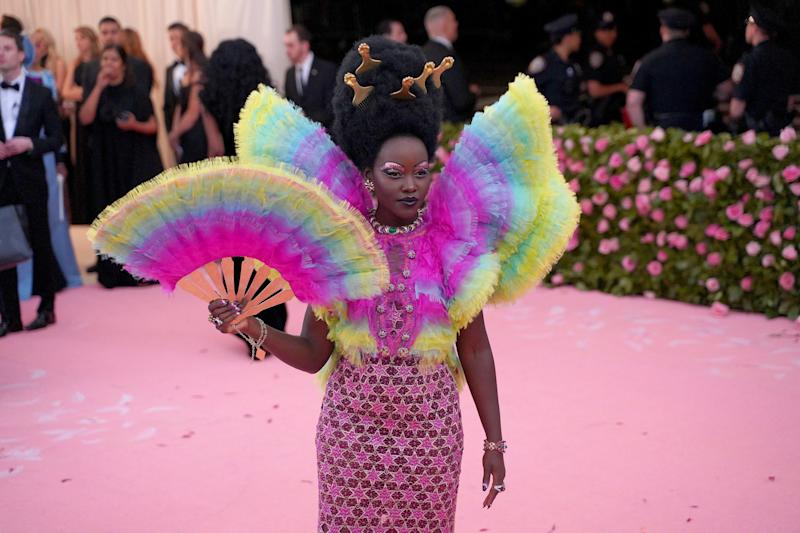 "NEW YORK, NY - MAY 6: Lupita Nyong'o attends The Metropolitan Museum Of Art's 2019 Costume Institute Benefit ""Camp: Notes On Fashion"" at Metropolitan Museum of Art on May 6, 2019 in New York City. (Photo by Sean Zanni/Patrick McMullan via Getty Images)"