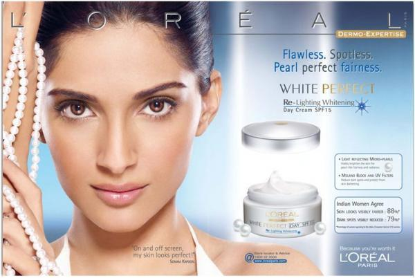 Among the celebrities slammed by Abhay Deol for endorsing a fairness cream brand (L'Oreal White Perfect), Sonam Kapoor got into a Twitter spat with the actor over the issue. She pointed out that while he had named other actors who had endorsed such products, he did not mention his own cousin Esha Deol. She then went on to defend herself by saying that when she shot for the campaign ten years ago, she didn't understand the ramifications.