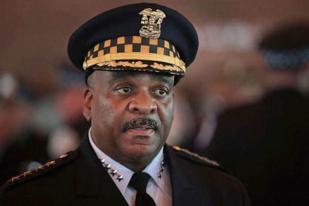 PHOTO: Chicago Police Superintendent Eddie Johnson attends a police academy graduation and promotion ceremony in the Grand Ballroom, June 15, 2017, in Chicago. (Scott Olson/Getty Images)