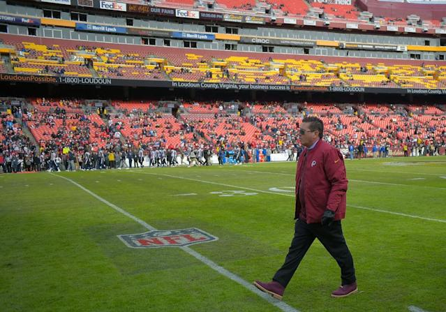 Daniel Snyder is presiding over a crumbling empire. (Getty)