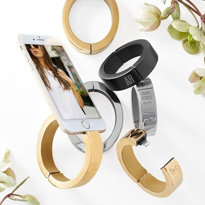 <p>The <span>Mark &amp; Graham iPhone Charging Bracelet</span> ($99, originally 149) looks so luxe, it can pass an actual piece of jewelry.</p>
