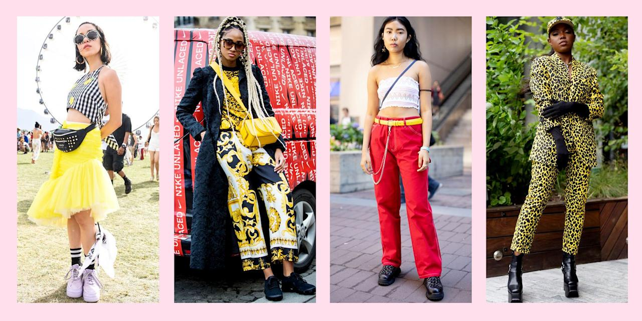 """<p>Yellow is certainly <a target=""""_blank"""">the color of the season</a>. Everyone from <a href=""""https://www.seventeen.com/fashion/celeb-fashion/g26595049/rihanna-outfits/"""" target=""""_blank"""">Rihanna</a> to <a href=""""https://www.seventeen.com/celebrity/music/a27467918/billie-eilish-style/"""" target=""""_blank"""">Billie Eilish</a> has been rocking the bright hue. Pink will always have <a href=""""https://www.seventeen.com/fashion/trends/a19669747/millennial-pink-minnie-mouse-ears/"""" target=""""_blank"""">a special place</a> in our hearts, but this change in weather has us thinking it's time for a wardrobe refresh. Add a little bit of the sunny shade to your closet with a <a href=""""https://www.seventeen.com/fashion/style-advice/g26972625/how-to-wear-a-bandana/"""" target=""""_blank"""">yellow bandana</a> or <a href=""""https://www.seventeen.com/fashion/trends/g27244881/beaded-bags/"""" target=""""_blank"""">beaded bag</a>. Or fully embrace the yellow trend with <a href=""""https://www.seventeen.com/fashion/style-advice/g27155582/how-to-wear-a-plaid-skirt/"""" target=""""_blank"""">marigold plaid jumpers</a> and <a href=""""https://www.seventeen.com/fashion/style-advice/g26041821/cute-plus-size-sundresses/"""" target=""""_blank"""">sundresses</a>. You can even layer on <a href=""""https://www.seventeen.com/fashion/style-advice/g27327046/see-through-clothes/"""" target=""""_blank"""">sheer yellow</a> dresses and jumpsuits to create a yellow wash over your whole 'fit. Here are 14 ideas to get you started — sunny days head, fam!</p>"""