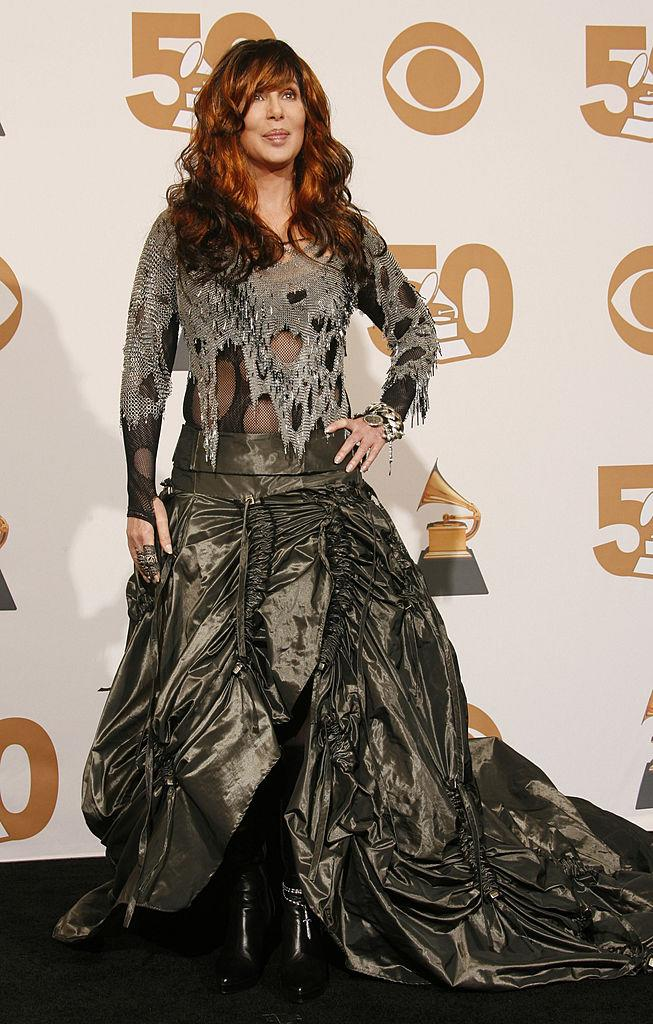 <p>Cher is a style icon, which makes it especially painful for us to add her to this list, but her 2008 Grammy Awards dress is a crime against fashion. Why she chose to turn up in a garbage bag is beyond us, but she has already proven countless times since then that she can do much better. (Image via Getty Images)</p>
