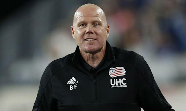 "Brad Friedel called out his <a class=""link rapid-noclick-resp"" href=""/soccer/teams/new-england-revolution/"" data-ylk=""slk:New England Revolution"">New England Revolution</a> during the week. Apparently, it worked. (Getty)"