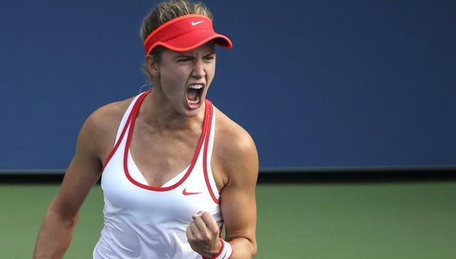 US Open: Jimmy Connors inspires Eugenie Bouchard in New York