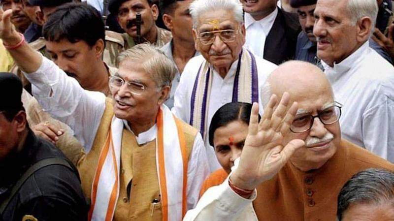 LK Advani, MM Joshi to attend Ayodhya ceremony via videoconferencing