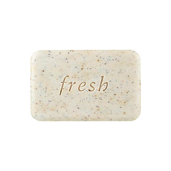 "<p>Who: Anyone with rough, dry skin. What: Fresh Seaberry Exfoliating Soap, $17, <a rel=""nofollow"" href=""http://www.sephora.com/seaberry-exfoliating-soap-P374544?country_switch=us&gclid=CI7ls-aortMCFYtMDQodrT8A_w&gclsrc=aw.ds&lang=en&mbid=synd_yahoolife&om_mmc=ppc-GG_381463959_27499865319_pla-99557226805_1439777_97594842879_9067609_c&skuId=1439777"">sephora.com</a> is a triple-milled cleansing bar that helps remove dead skin and give skin a radiant glow. Where: Massage over entire body onto wet skin. When: Use in shower daily for a gentle exfoliation. Why: Infused with seaberry oil, cranberry and bamboo exfoliants and shea buttter to help soften and restore dehydrated skin.</p>"