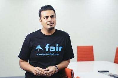 Khalid Parekh, founder and CEO, says as an immigrant entrepreneur he saw how the opportunity gap limits advancement. He started Fair to provide ethical and transparent finance to improve lives and provide opportunities.