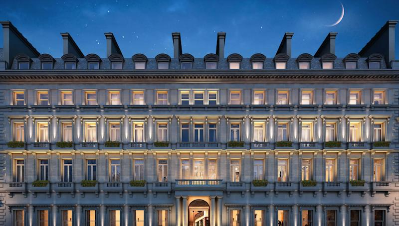 English buyers will soon have a once-in-a-lifetime opportunity to live near the Queen herself. London-based developer Northacre is turning a historic building next to Buckingham Palace and the Queen's Gallery into a private residential structure that will house 72 bespoke flats, giving residents the chance to live in one of the city's most iconic neighborhoods. Built in 1861 and located in St. James Park, the Grade II listed landmark originally served as a hotel for guests of Queen Victoria.
