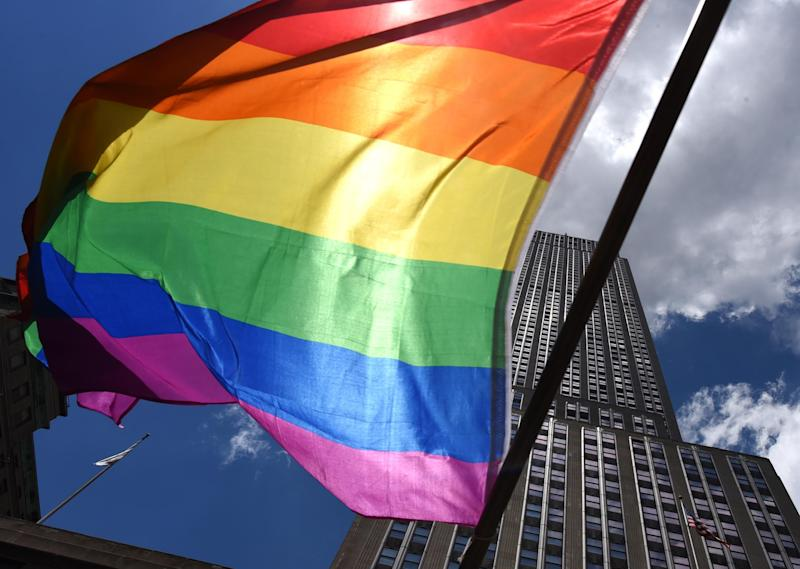 The Trump administration seeks to further roll-back transgender rights in a new memo from the Department of Health and Human Services: TIMOTHY A. CLARY/AFP/Getty Images