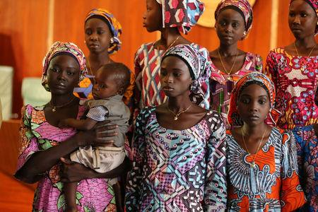 Abducted Chibok schoolgirl found carrying 10-month old baby