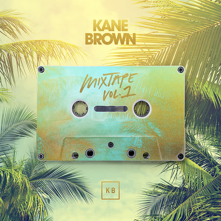 "This cover image released by RCA Nashville and Zone 4 shows ""Mix Tape Vol. 1,"" by Kane Brown. The country singer has released various singles this year, and those songs will be featured on his new seven-song mixtape coming out Friday. (RCA Nashville and Zone 4 via AP)"