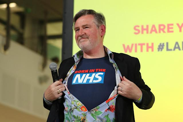 Shadow International Trade Secretary Barry Gardiner is said to be considering standing as Labour leader (PA)