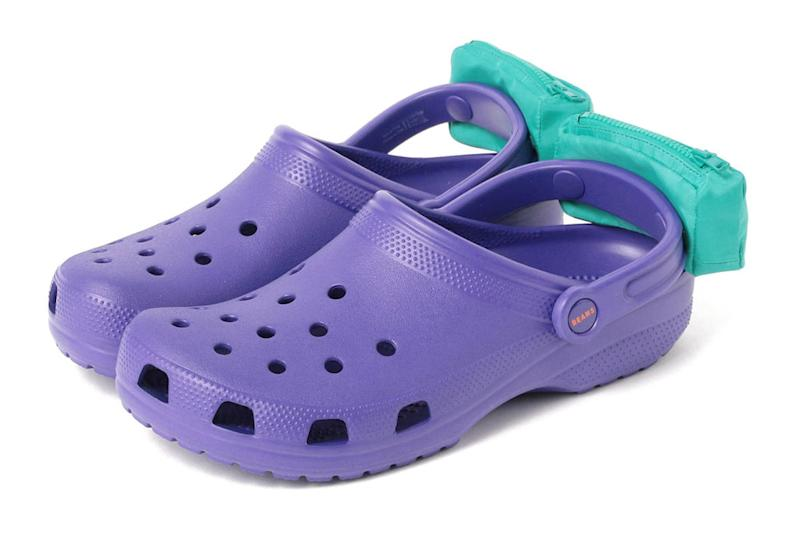 96555eb94c95 These Wacky Crocs Feature Fanny Packs Attached to the Shoes