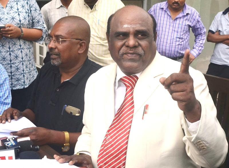 Retired Justice Karnan: Calcutta High Court's former judge arrested in Coimbatore by West Bengal Police