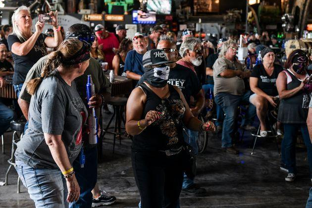 A file image from the 80th Annual Sturgis Motorcycle Rally in Sturgis, South Dakota on August 9, 2020. (Photo: Michael Ciaglo via Getty Images)