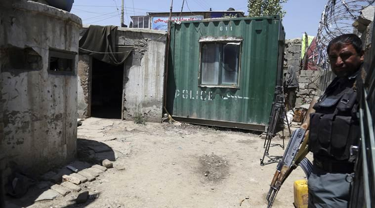 Afghan attack gunmen, Afghan attacks Indian Express, Police officers killed in Afghan Attack, Gunmen police officers attack, Kabul police officers attack, Afghan Policemen killed, Kabul attack Policemen killed, Indian Express world news,