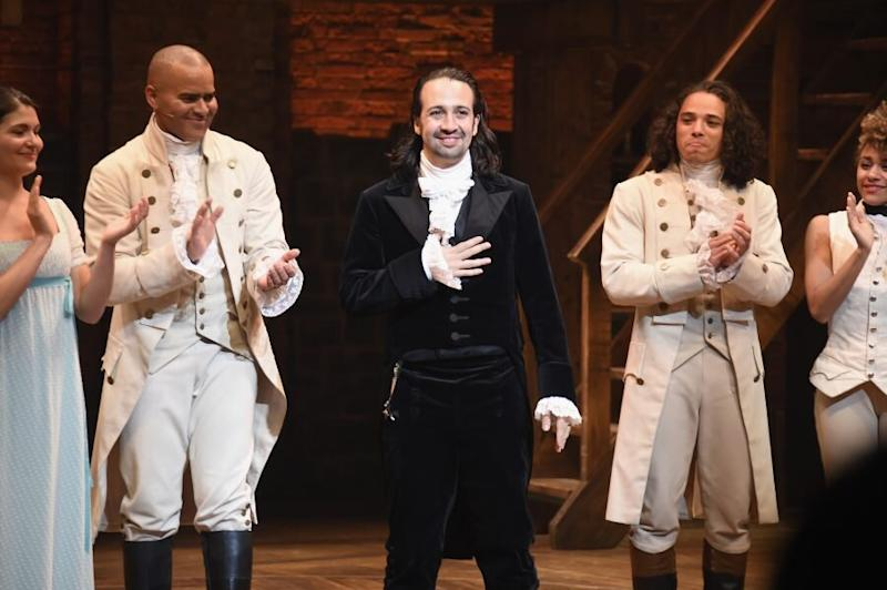 Hamilton is going to hit the big screen, and all of the original cast is on board