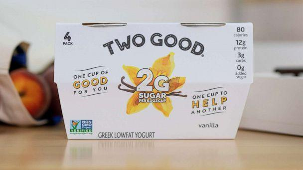 PHOTO: Two Good will provide an equal amount of food to people in need for every purchase of Two Good yogurt by consumers. (Two Good)