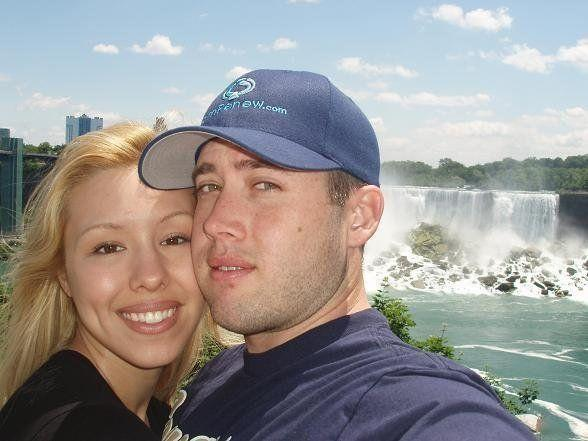 An undated photo of Jodi Arias and Travis Alexander that she posted to her MySpace page.