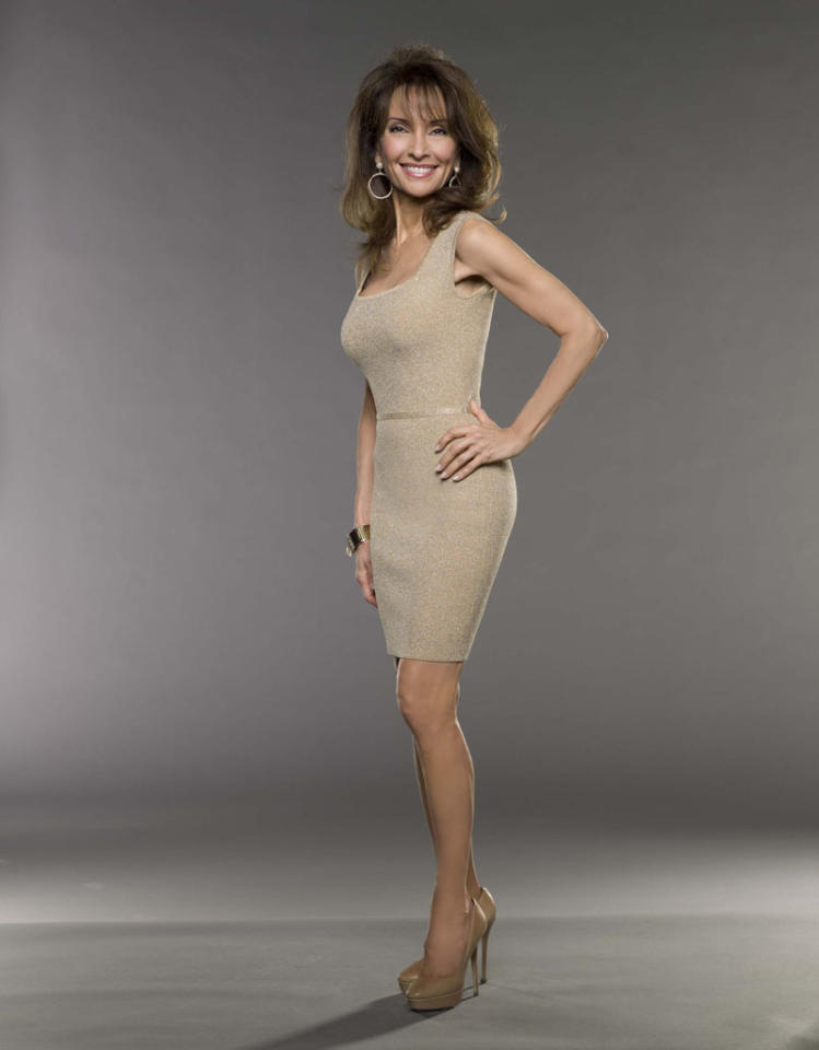 "Susan Lucci in the Lifetime series ""Devious Maids."""