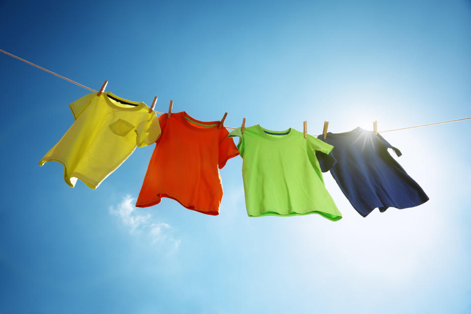People are loving a TikTok user's hack to rescue shrunken clothes. (Getty Images)