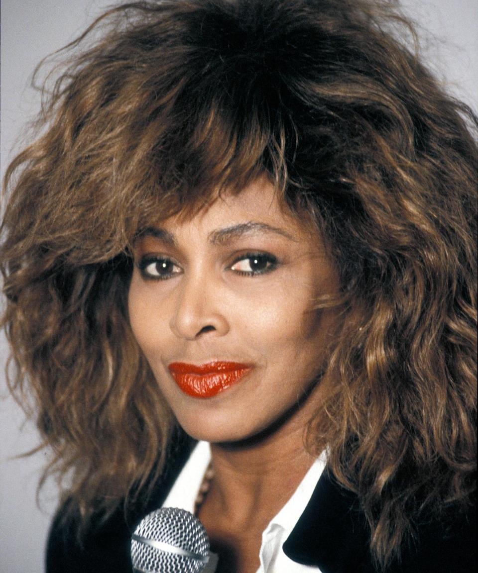 "<h3>Tina Turner<br></h3><br>If you're going '80s, Tina Turner's<a href=""https://www.refinery29.com/en-us/shag-haircut-transformation-video"" rel=""nofollow noopener"" target=""_blank"" data-ylk=""slk:hairstyle"" class=""link rapid-noclick-resp""> hairstyle</a> is the perfect look. To get in the mood, jam out to ""What's Love Got To Do With It"" on repeat as you tease your hair (or wig) to the max.<span class=""copyright"">Photo: Francis Apesteguy/Getty Images.</span>"