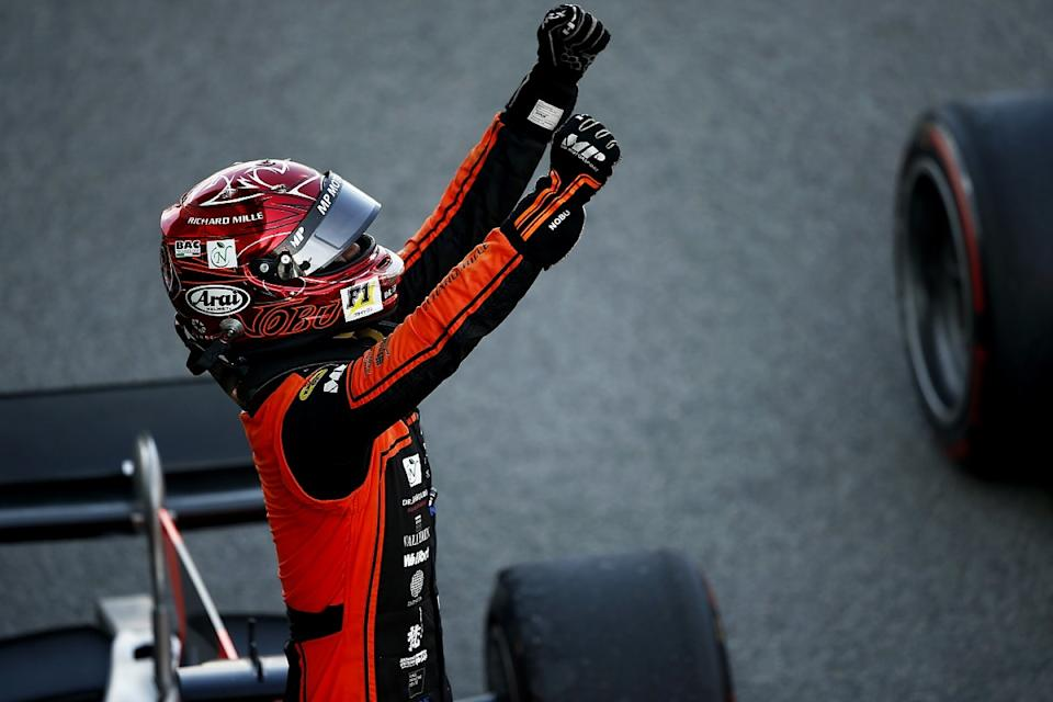 Matsushita takes surprise F2 win from 18th on grid