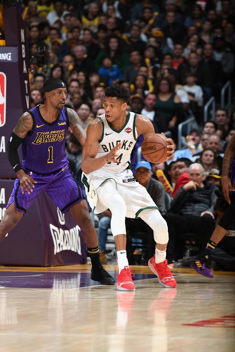 Bucks outlast Lakers 131-120 for 8th straight win