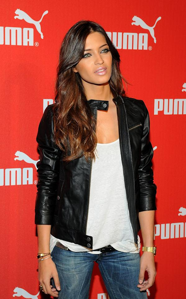Sara Carbonero attends the Puma brand showroom opening at the World Trade Center on October 14, 2010 in Barcelona, Spain. *** Local Caption ***