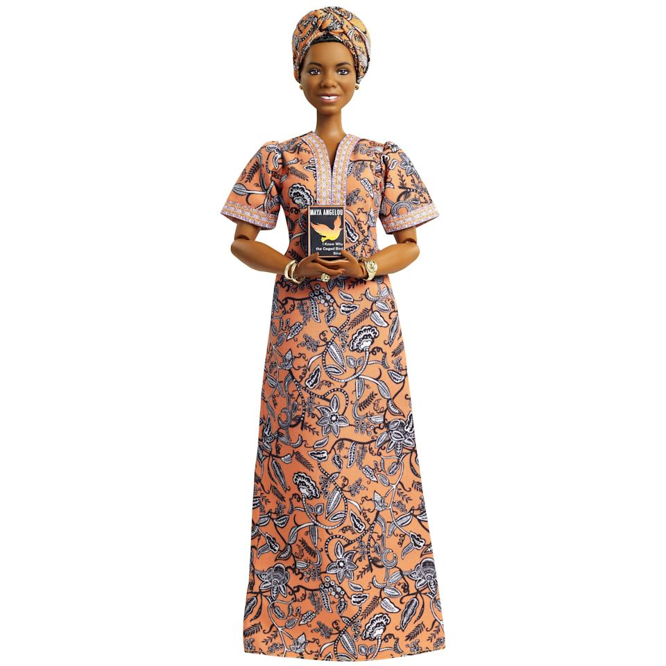 A Dr. Maya Angelou Barbie will soon be available through Canadian retailers.   (Photo: Mattel)