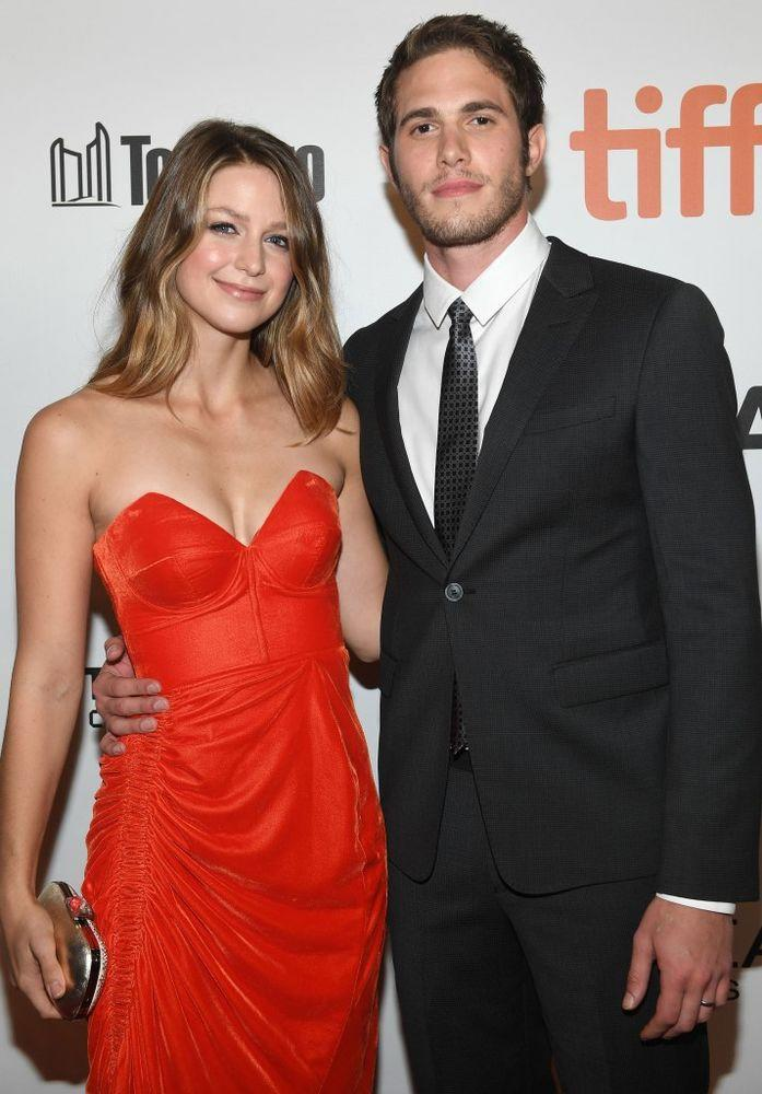 Melissa Benoist and Blake Jenner | Sonia Recchia/Getty