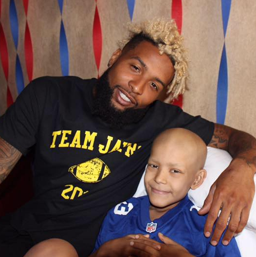 Odell Beckham Jr. and Jayro Ponce. (Team Jayro Facebook)