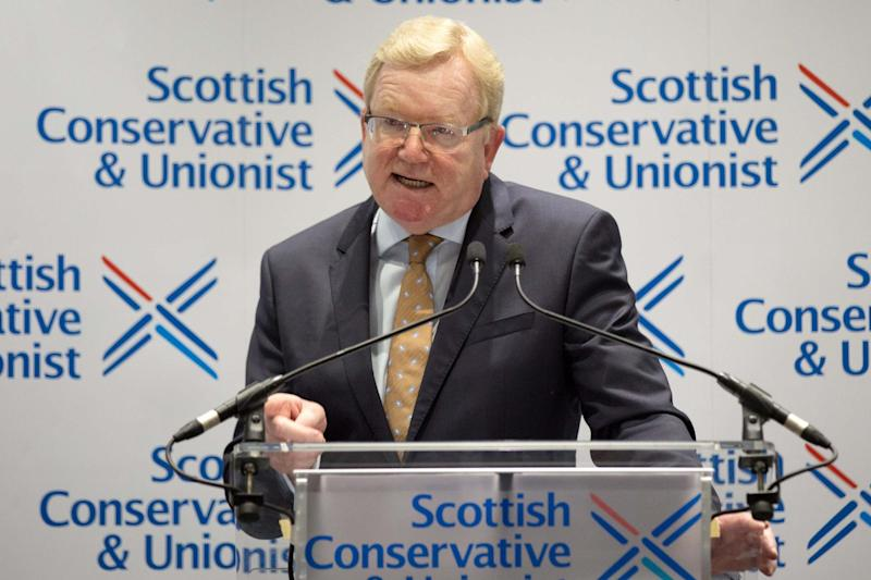 Scottish Conservative leadership winner Jackson Carlaw: Getty Images