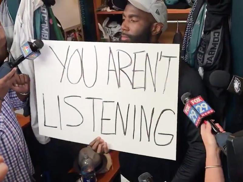 Malcolm Jenkins You Are Not Listening