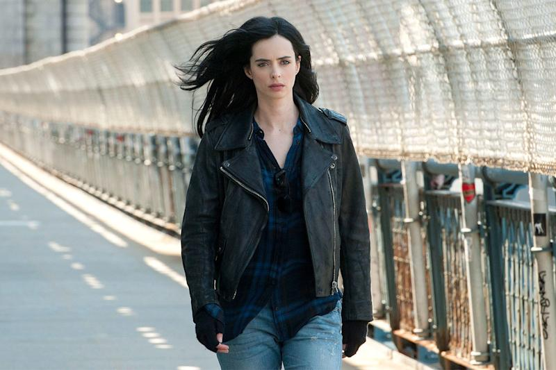 Everyone's favorite grouchy, hard-drinking superhero is finally back for a second season on March 8, with Krysten Ritter slipping on the familiar leather jacket for Jones's latest adventures. Though the plot is still fairly under wraps, a teaser trailer promises that she's still a sardonic and deliciously violent destroyer of men.
