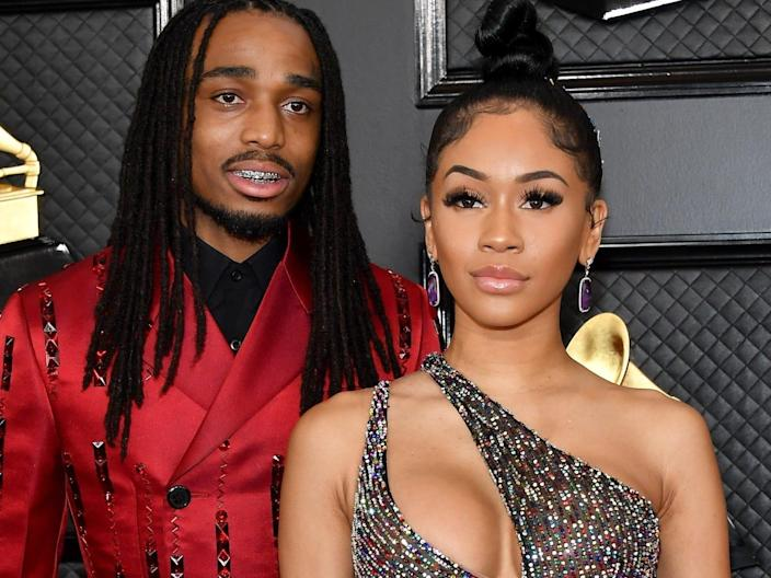 quavo and saweetie grammys january 2020