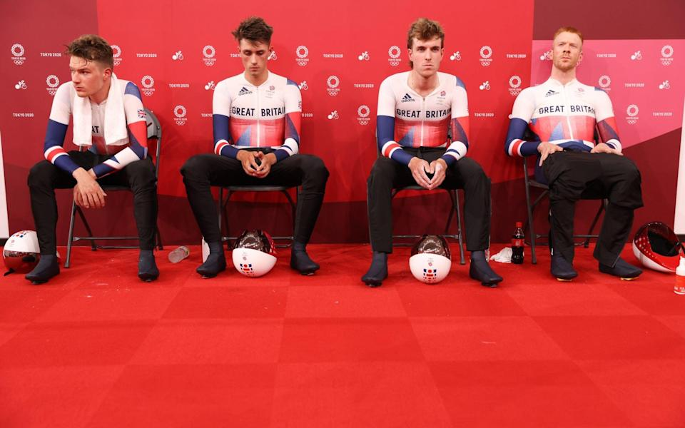 Ethan Hayter (left to right), Ethan Vernon, Ollie Wood andEd Clancy - SWPIX.COM