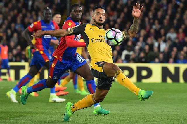 "Theo Walcott's admission after Arsenal's 3-0 loss at Selhurst Park that Palace ""wanted it more"" reflected badly on Arsene Wenger's group of players (AFP Photo/Glyn KIRK)"