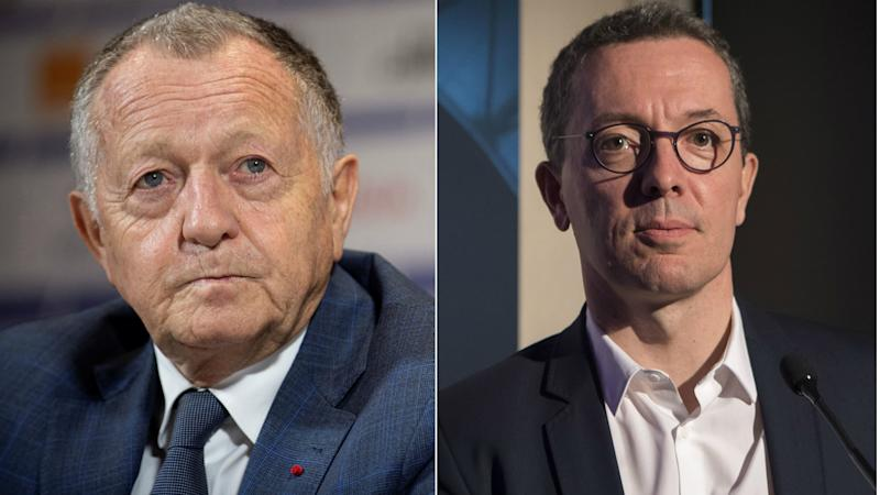 Coronavirus: Marseille president Eyraud and Lyon counterpart Aulas clash over COVID-19